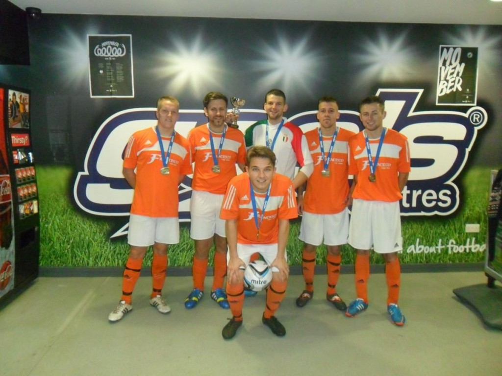 Movember Tournament Winners - Francesco Hair Salon FC