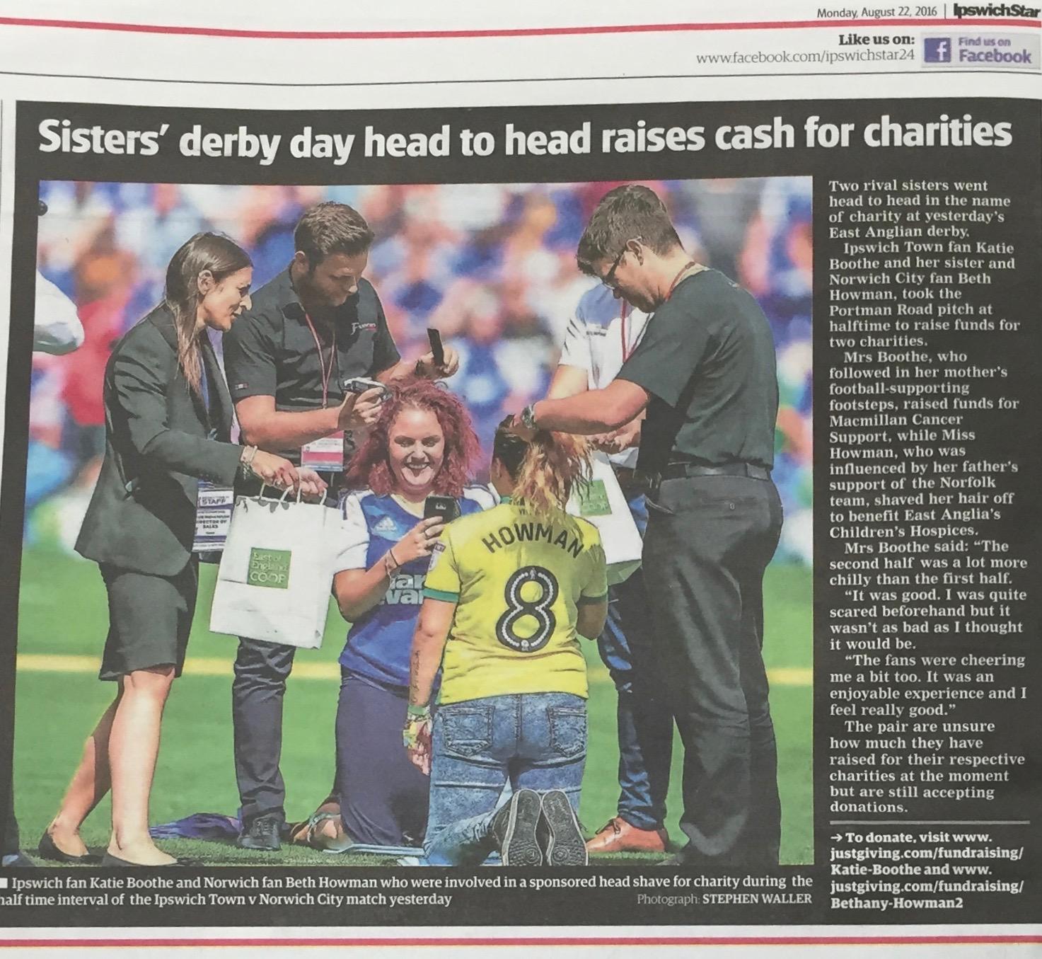 Ipswich Star - 22/8/16