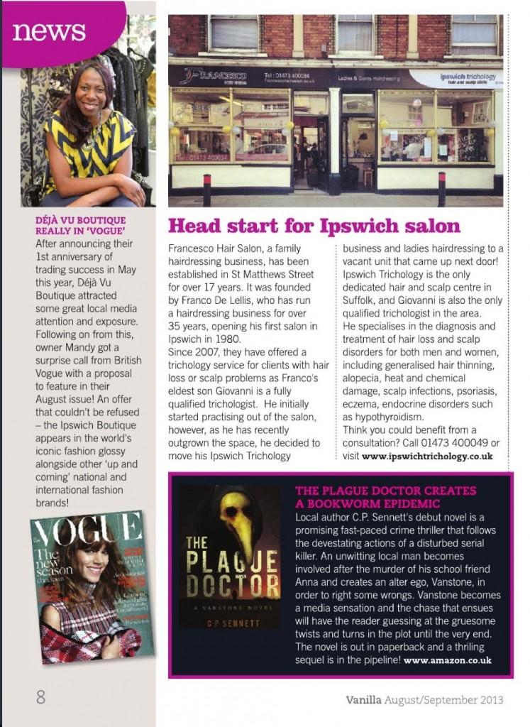 Vanilla Magazine - Aug/Sept 2013